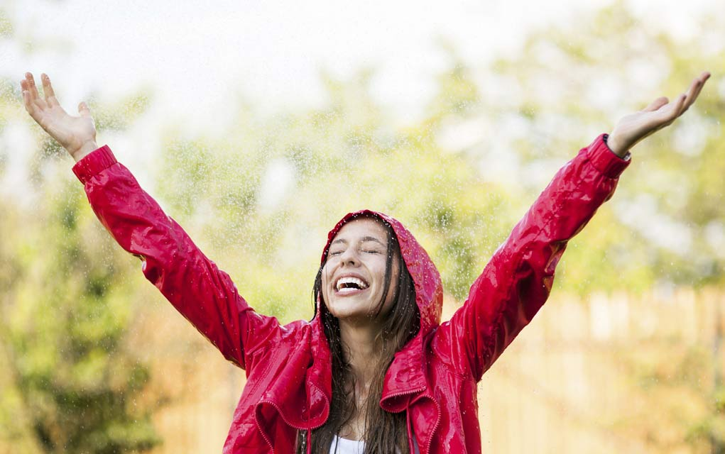 How to Be Radiant as the Weather Changes